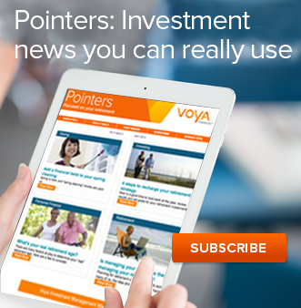 Pointers:Investment news you can really use SUBSCRIBE